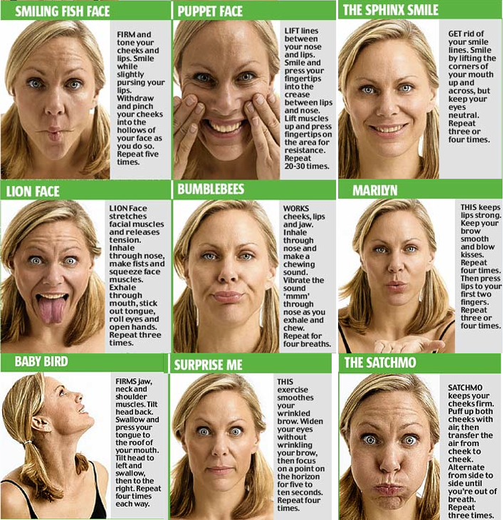Facial Muscle Exercise 29